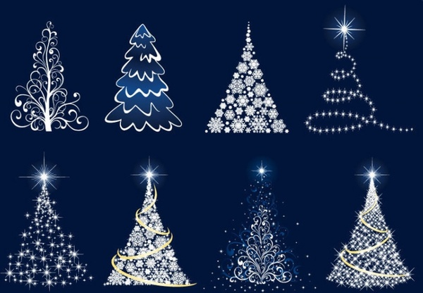 Christmas Tree Vector Graphics Free Vector In Adobe
