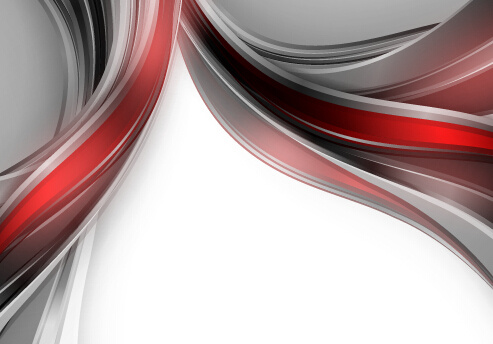 Chrome wave with abstract background vector Free vector in