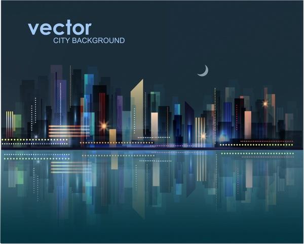 Landscape Illustration Vector Free: City Landscape Vector Free Vector Download (2,668 Free