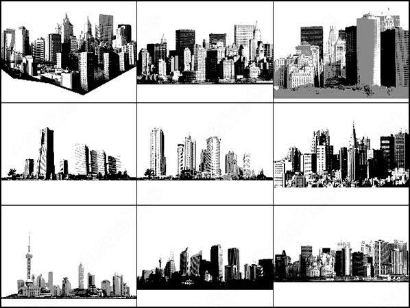 cityscape and skyline brush