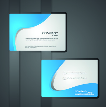 Classic business cards design vector free vector in encapsulated classic business cards design vector colourmoves