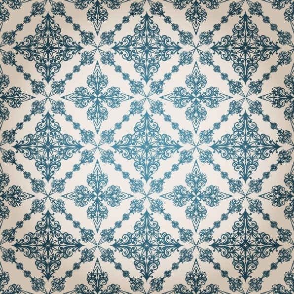 Classic pattern vector background