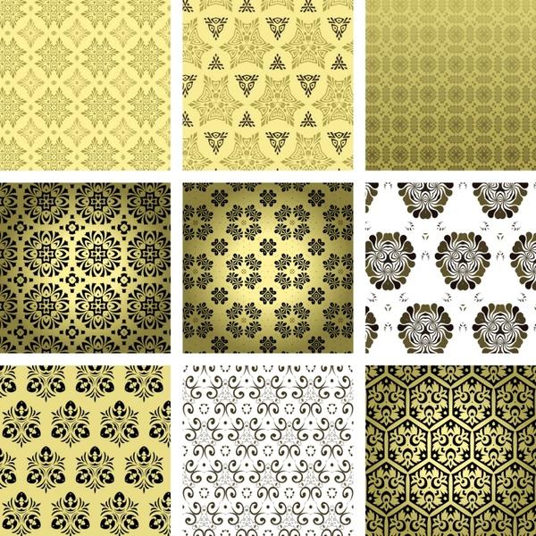 pattern templates flat repeating symmetric shapes decor