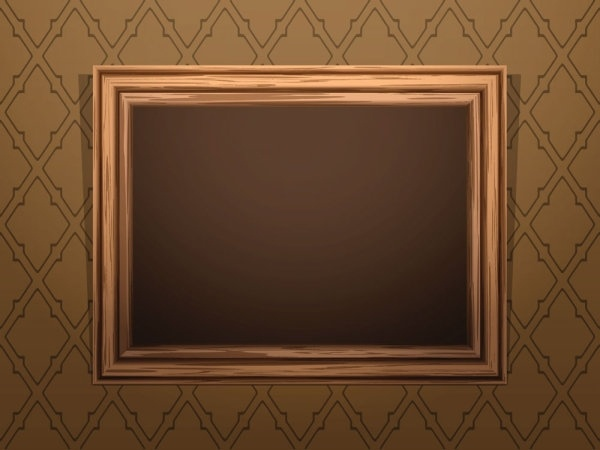 79b5fd31131d Classic wood frame 04 vector Free vector in Encapsulated PostScript ...