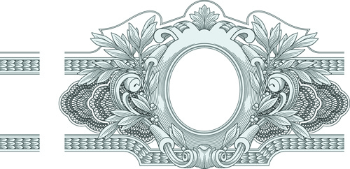 Classical medieval border frame vector free vector in encapsulated classical medieval border frame vector stopboris