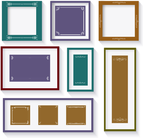 classical picture frames sets
