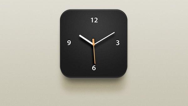 Clock iOS Icon