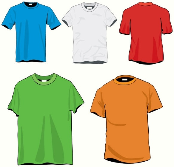 Clothes template 20 vector Free vector in Encapsulated PostScript ...