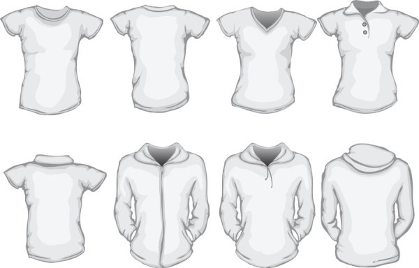 Clothes Template Design Vector Free Vector In Encapsulated