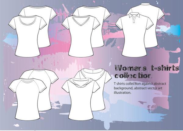 clothes template design vector