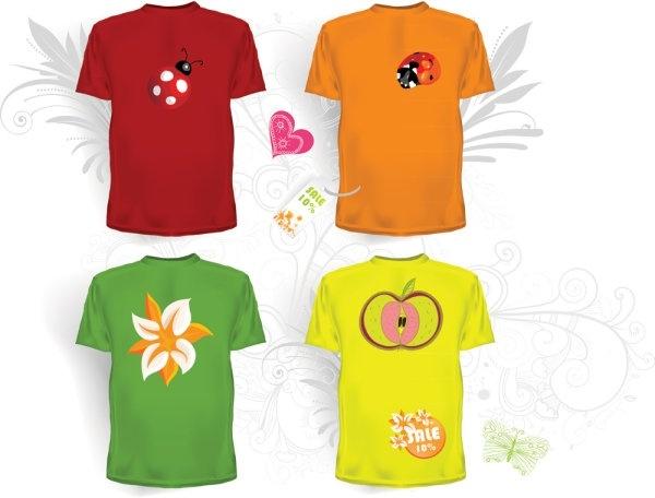 clothes templates 05 vector