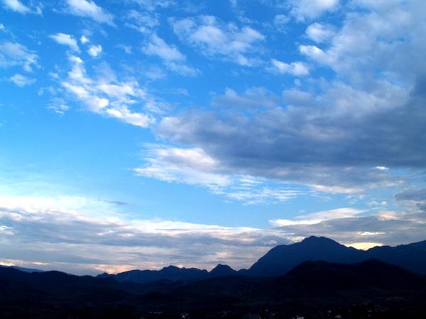 clouds sky clouds blue sky
