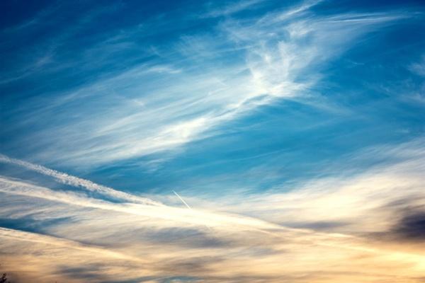 clouds sky sunrise
