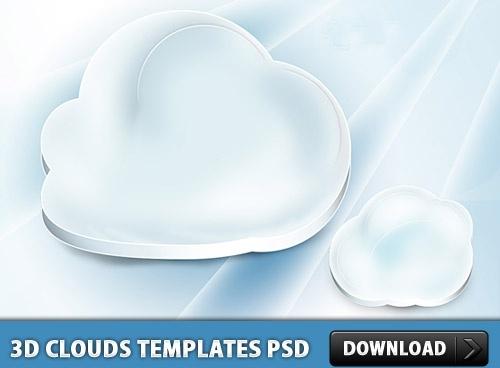 Clouds Templates PSD
