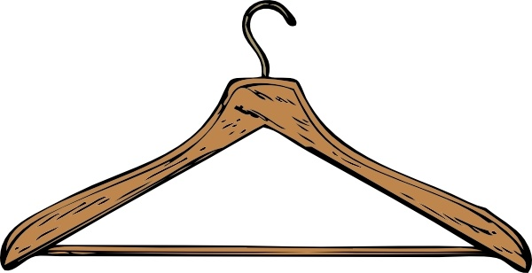 Coat Hanger Clip Art Free Vector In Open Office Drawing