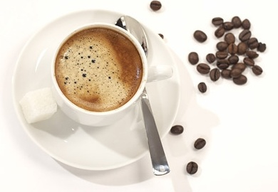 coffee and coffee beans fine picture