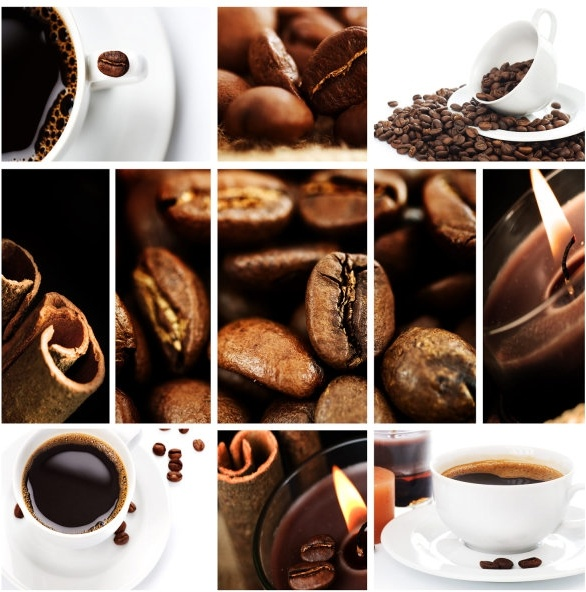 coffee and coffee beans highdefinition picture