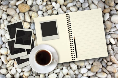 coffee and notepad 01 hd pictures