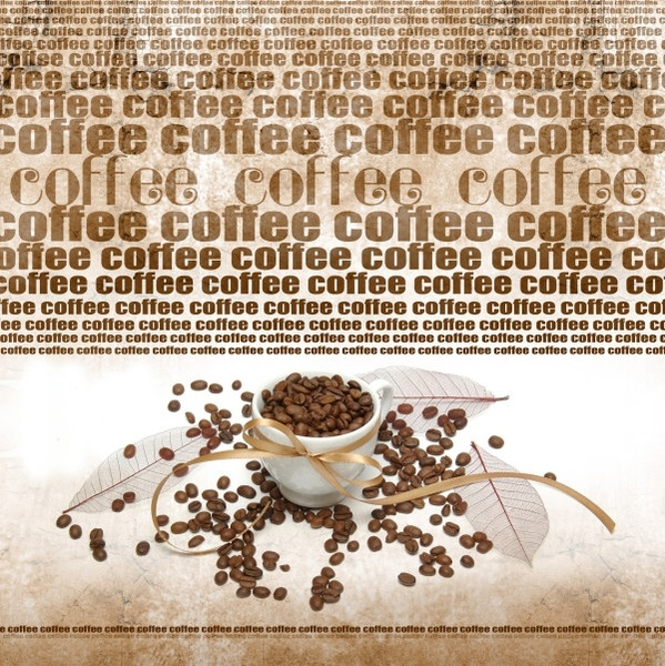 coffee beans coffee cup highdefinition picture 5