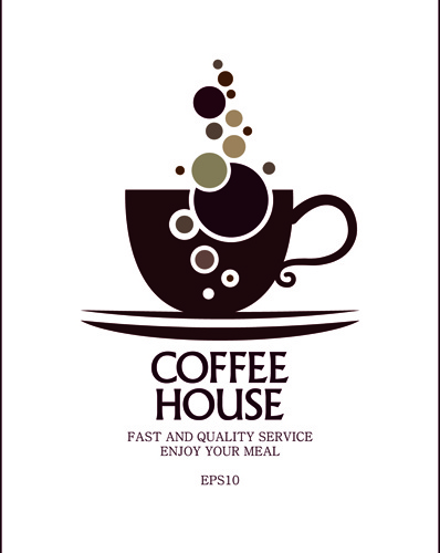Coffee house logo design free vector download (71,020 Free ...