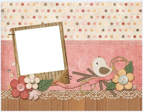 collage style cute photo frame 6
