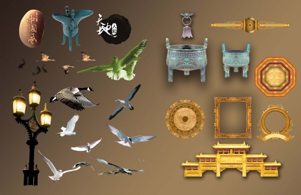 collection of classical psd layered 2
