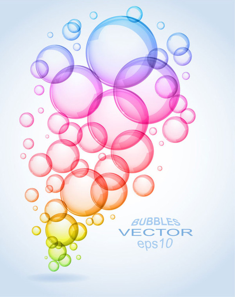 Colorful bubbles free vector download (31,344 Free vector ...