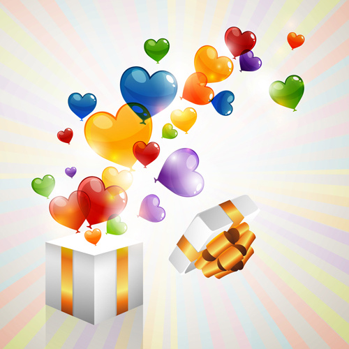 Heart Balloon Free Vector Download 5340 Free Vector For