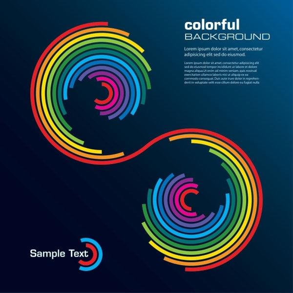 color line 04 vector