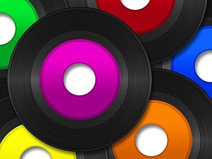 color vinyl picture