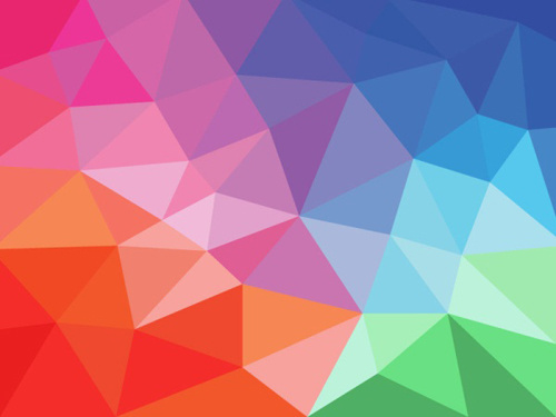 Colored Geometric Shapes Art Background Vector Free Vector In Adobe