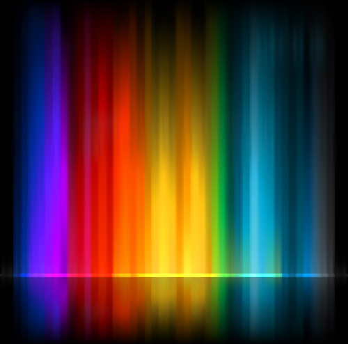 colored glow abstract background vector
