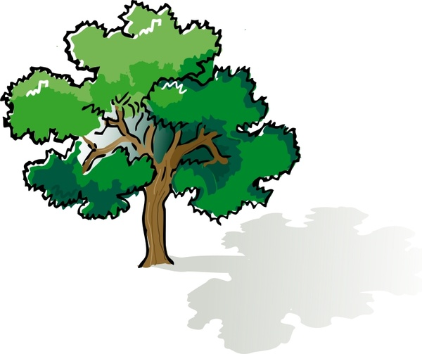 colored oak tree free vector in open office drawing svg svg rh all free download com oak tree graphic images oak tree graphics free