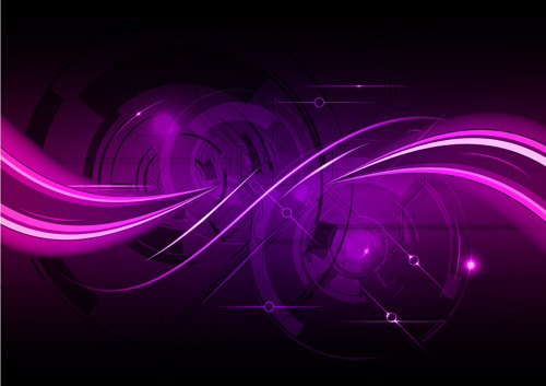colored rays backgrounds vector