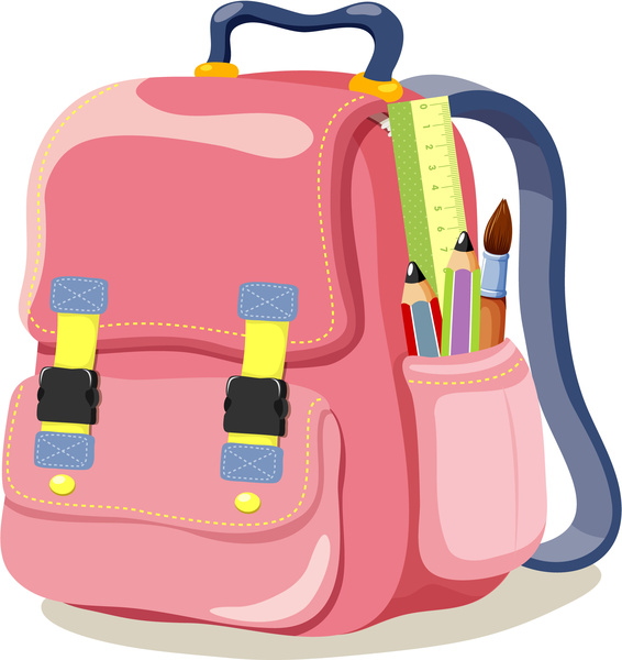 school bags vector images free vector download  1 953 free vector  for commercial use format school kids clipart no color school kids clip art banner free