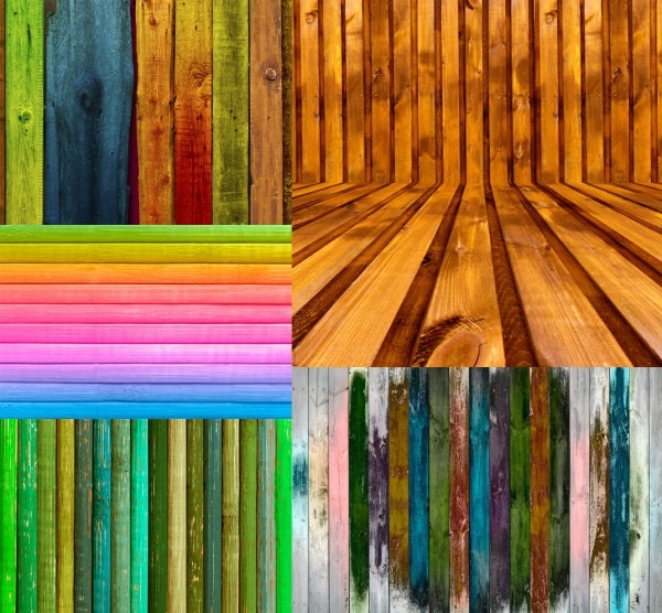 colored wood highdefinition picture