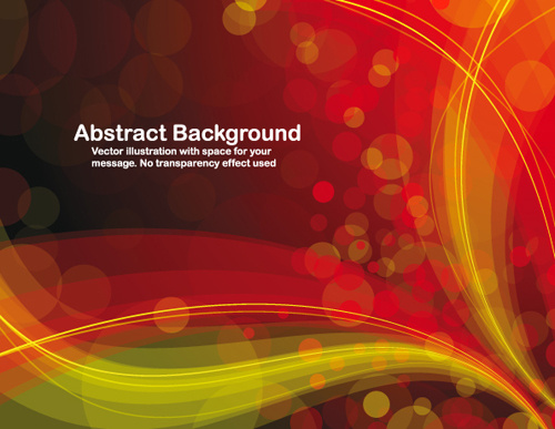 colorful abstract backgrounds vector graphic set