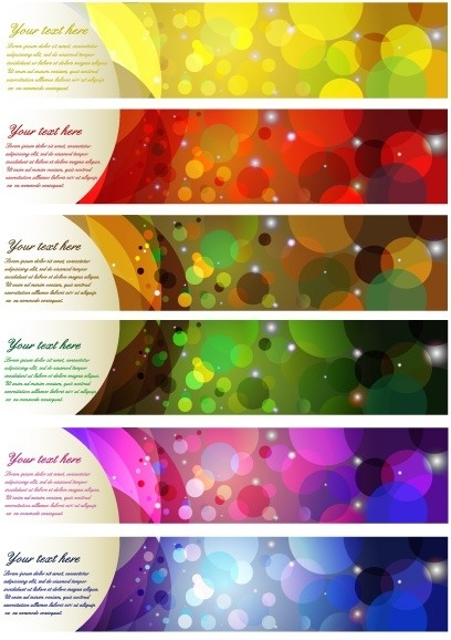 Colorful Abstract Banner