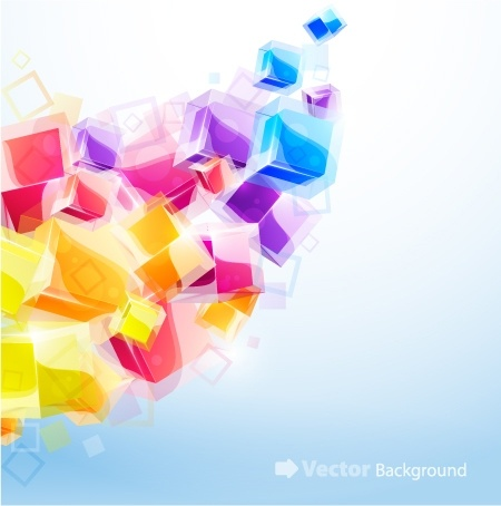 colorful abstract elements 01 vector