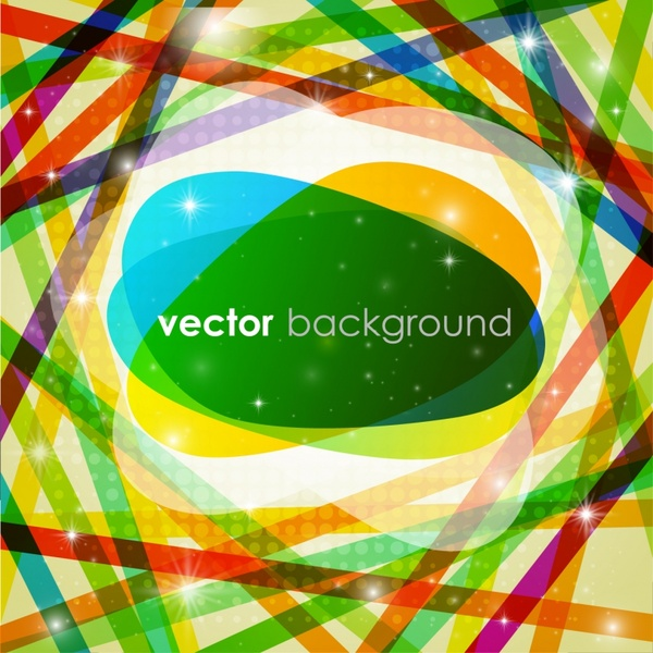 abstract background template colorful dynamic sparkling lines messy