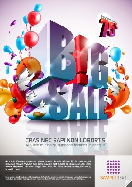 colorful background vector decorative design promotional