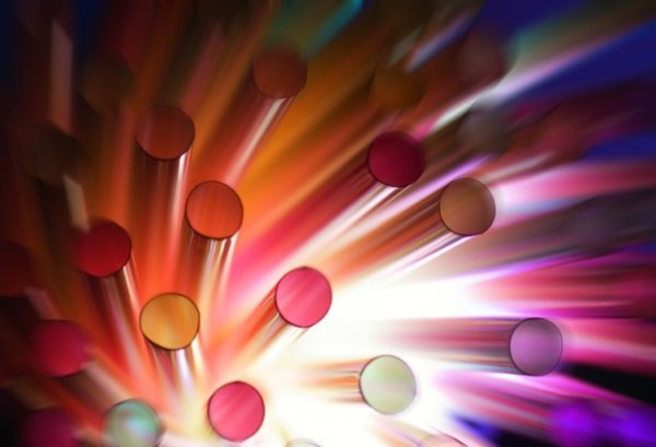 colorful dynamic dot highdefinition picture