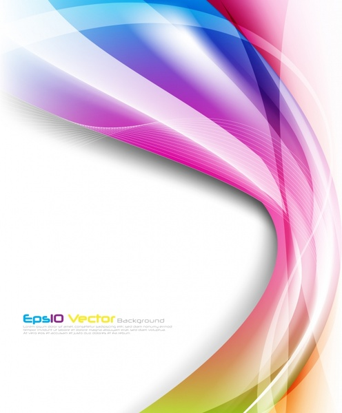 abstract background colorful modern dynamic lights decor