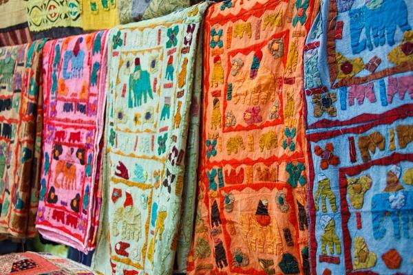 colorful fabric decoration