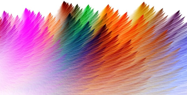 colorful feathers background of highdefinition picture