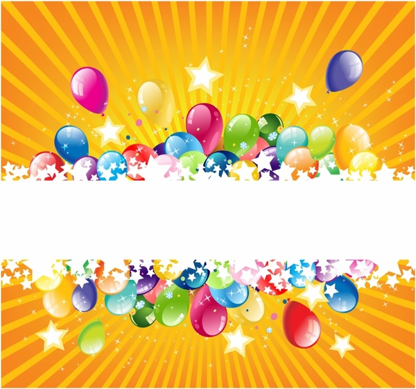 Colorful Festive Balloon