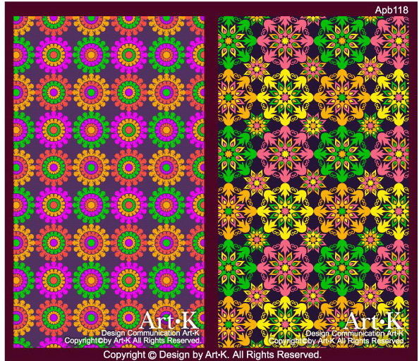 colorful flowers art backgrounds