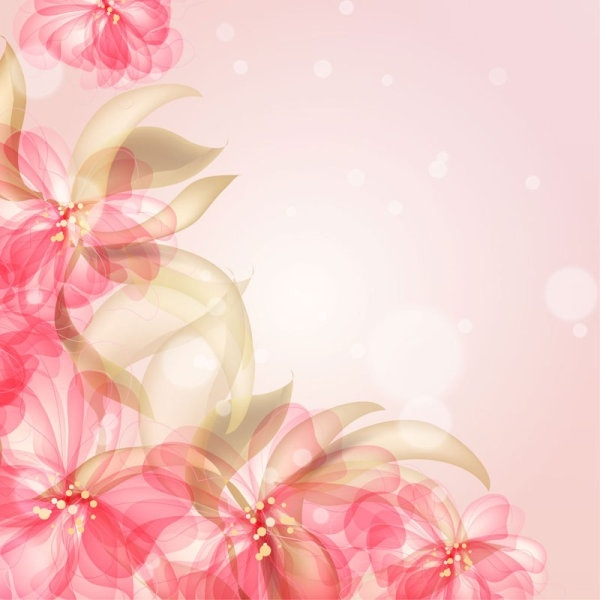 Vintage Flower Background Free Vector Download 55 826