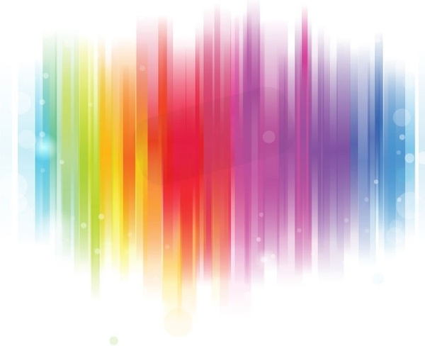 Colorful Glowing Background Vector