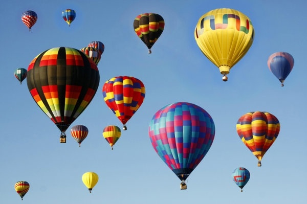 colorful hot air balloon 02 hq pictures